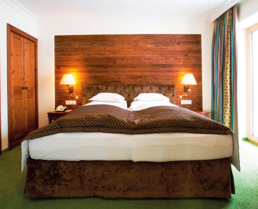 Sleeping area in the Suite Comfort