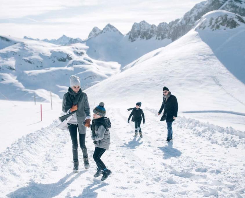 Urlaub mit Kindern in Lech