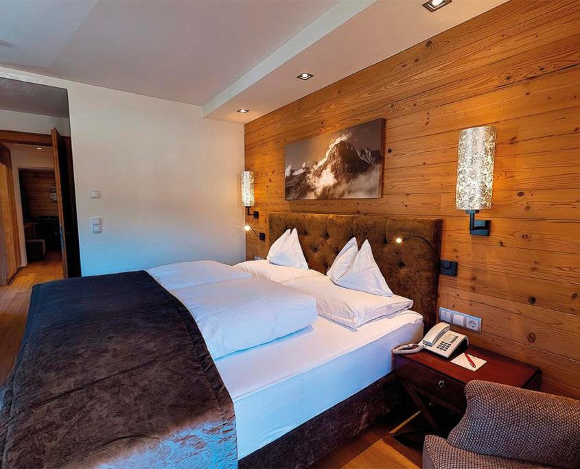 Finding restful sleep in the Suite Deluxe